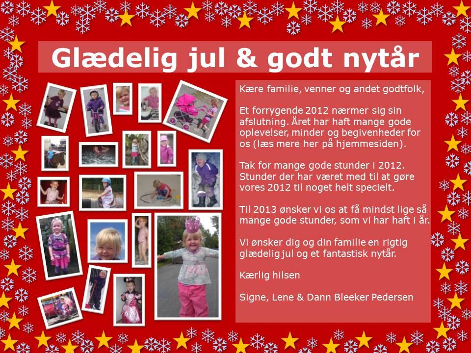 Julekort 2012